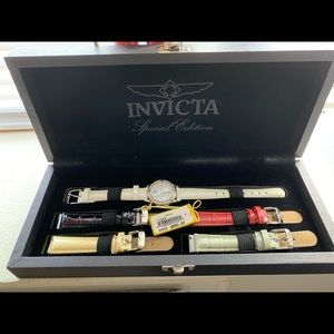 INVICTA LIMITED EDITION WATCH with assorted band.